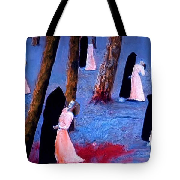 Death And The Maidens Tote Bag