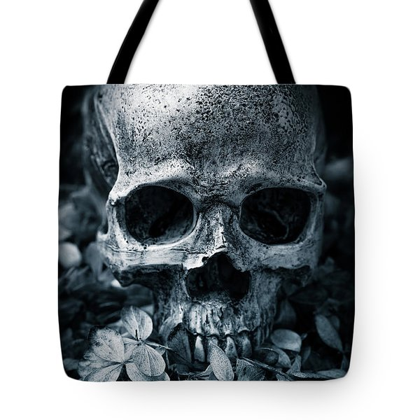 Tote Bag featuring the photograph Death Comes To Us All by Edward Fielding
