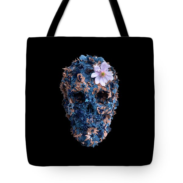 Skull 9 T-shirt Tote Bag