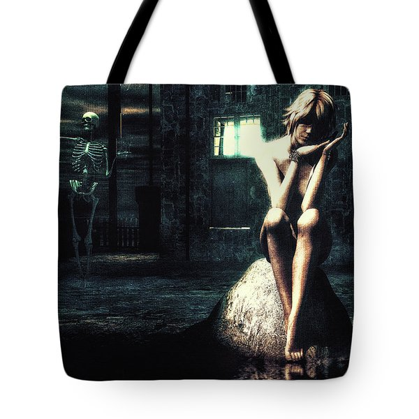 Death Is A Poet Tote Bag by Bob Orsillo
