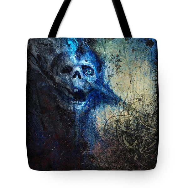 Death Is Staring At Me Tote Bag