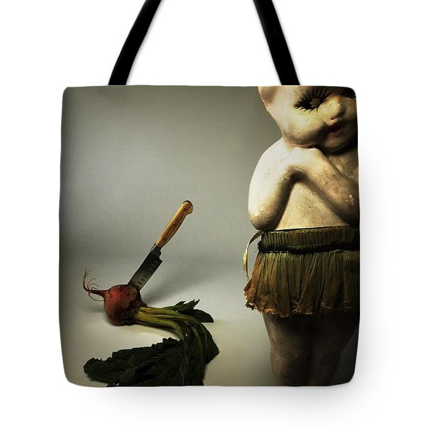 Death Of A Vegetable Tote Bag
