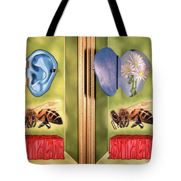 Death Of The Canadian Bee Tote Bag