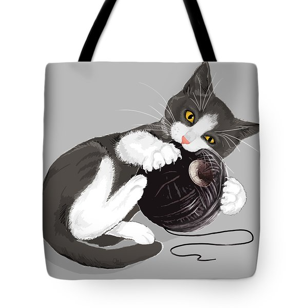 Death Star Kitty Tote Bag