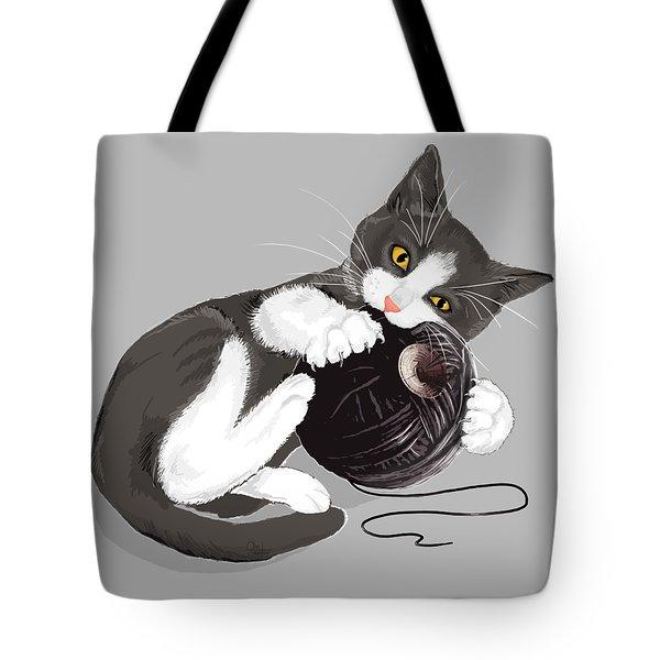 Death Star Kitty Tote Bag