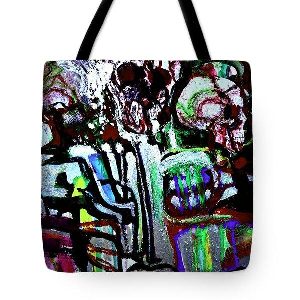 Death Study-3 Tote Bag
