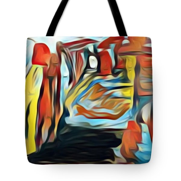 Death To The Titans Tote Bag