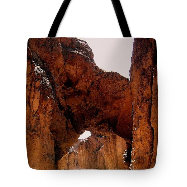 Death Valley Arch Tote Bag by Marty Koch