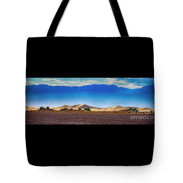Death Valley Dunes Tote Bag
