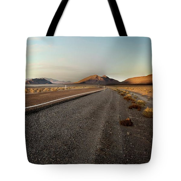 Death Valley Hitch Hiker Tote Bag