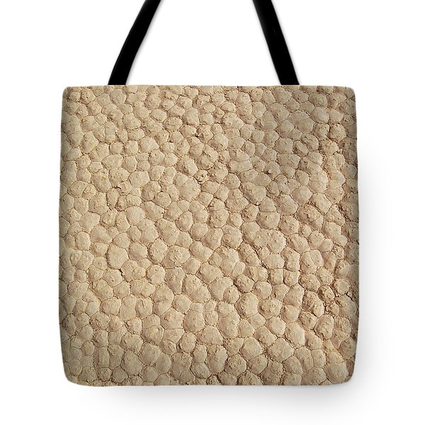 Tote Bag featuring the photograph Death Valley Mud by Breck Bartholomew