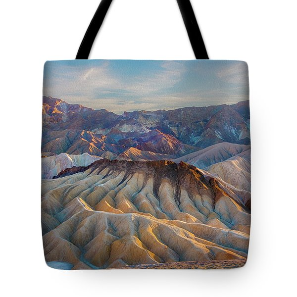 Death Valley Palette  Tote Bag