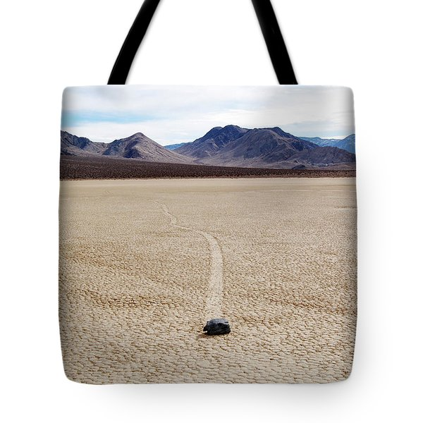 Death Valley Racetrack Tote Bag