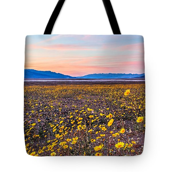 Death Valley Sunset Tote Bag