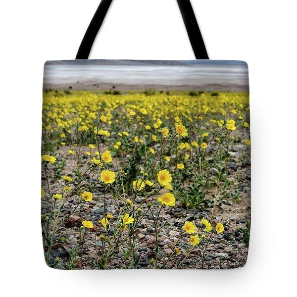 Death Valley Super Bloom Tote Bag