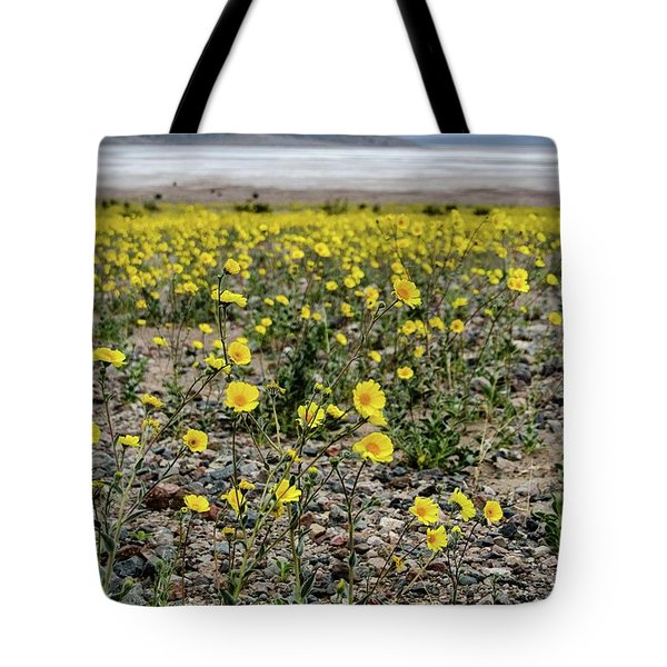 Death Valley Super Bloom Tote Bag