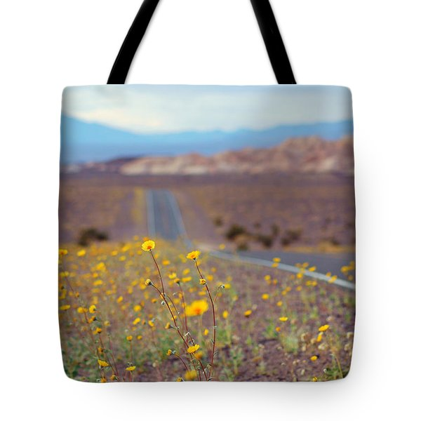 Death Valley Superbloom 101 Tote Bag by Daniel Woodrum