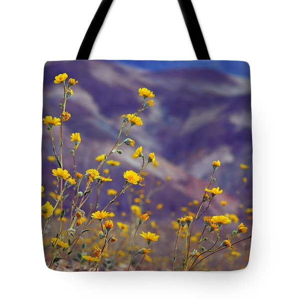 Death Valley Superbloom 103 Tote Bag by Daniel Woodrum