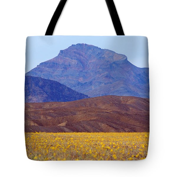 Death Valley Superbloom 201 Tote Bag
