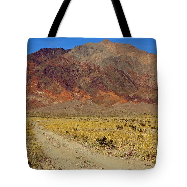 Death Valley Superbloom 205 Tote Bag by Daniel Woodrum