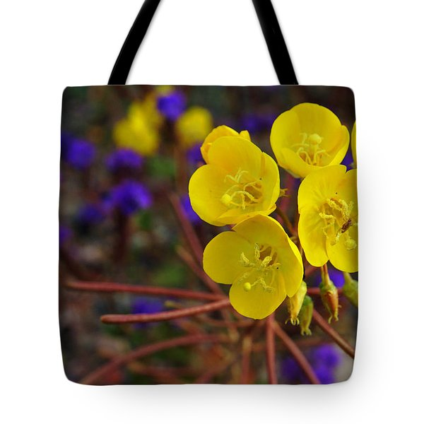 Death Valley Superbloom 206 Tote Bag