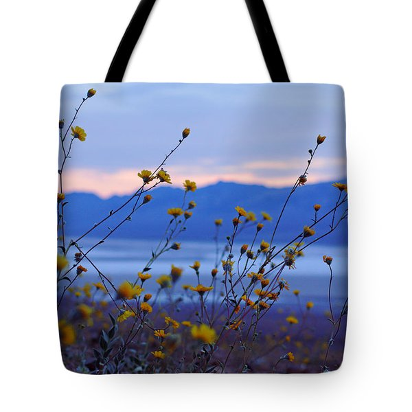 Death Valley Superbloom 304 Tote Bag by Daniel Woodrum