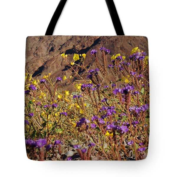 Death Valley Superbloom 401 Tote Bag by Daniel Woodrum