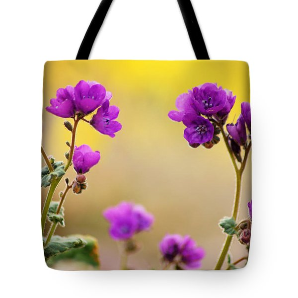 Tote Bag featuring the photograph Death Valley Superbloom 506 by Daniel Woodrum