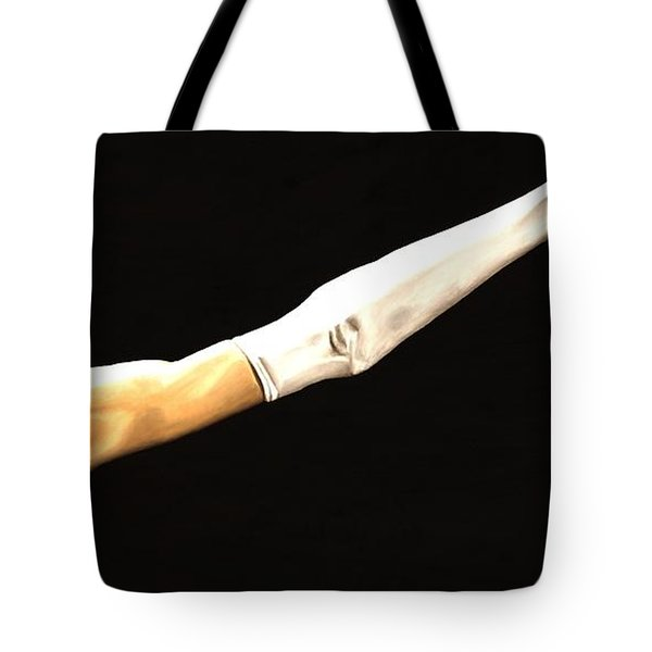 Deathly Seduction Tote Bag by Richard Young
