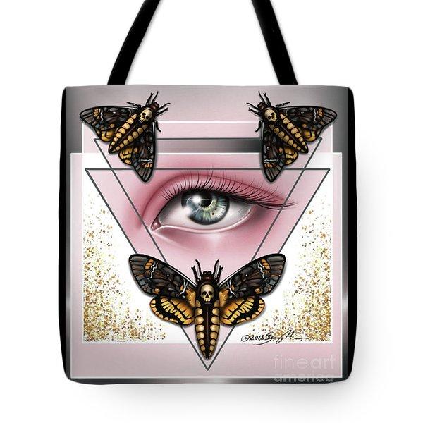 Death's Head Moths Tote Bag