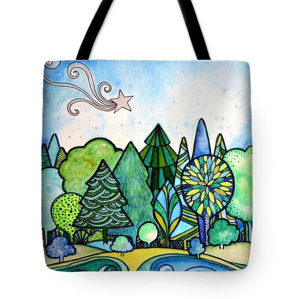 Deborahs Dreamscape Tote Bag