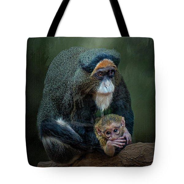 Debrazza's Monkey And Baby Tote Bag