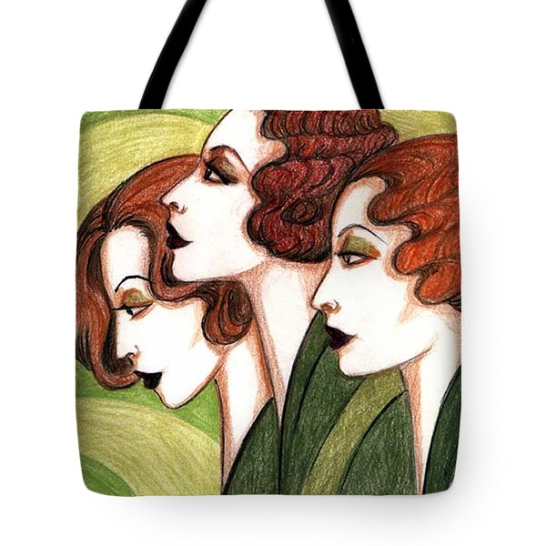 Debutante Trio Tote Bag by Tara Hutton