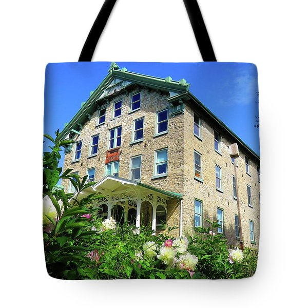 Dec Building Cape Vincent Ny Tote Bag