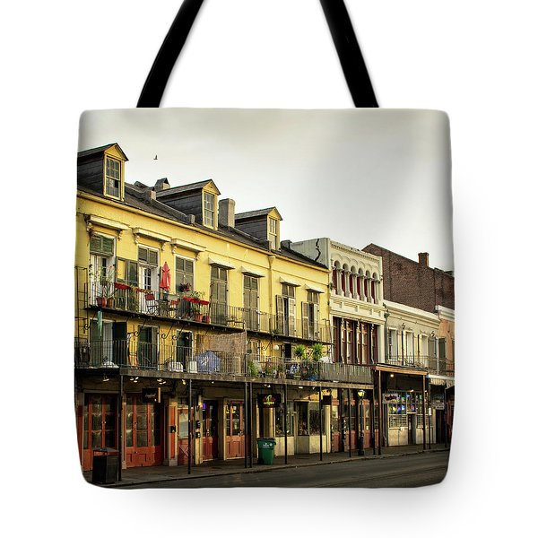 Decatur Street New Orleans Tote Bag