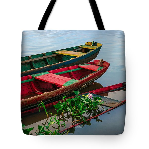 Decaying Boats Tote Bag by Celso Bressan