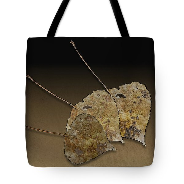 Tote Bag featuring the photograph Decaying Leaves by Joe Bonita