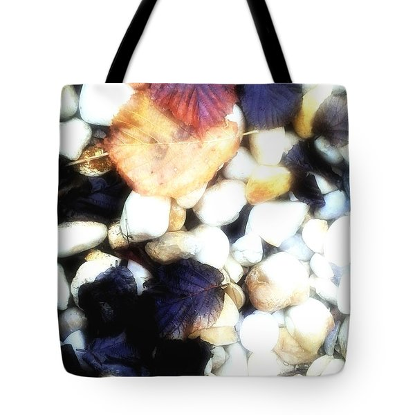 Decaying Leaves Tote Bag