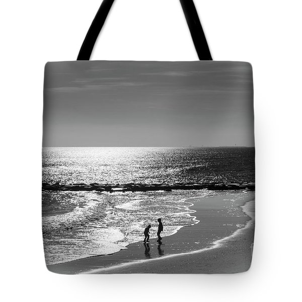 December At The Jersey Shore Tote Bag