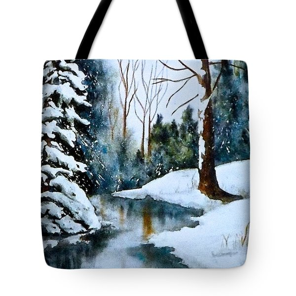 December Beauty Tote Bag