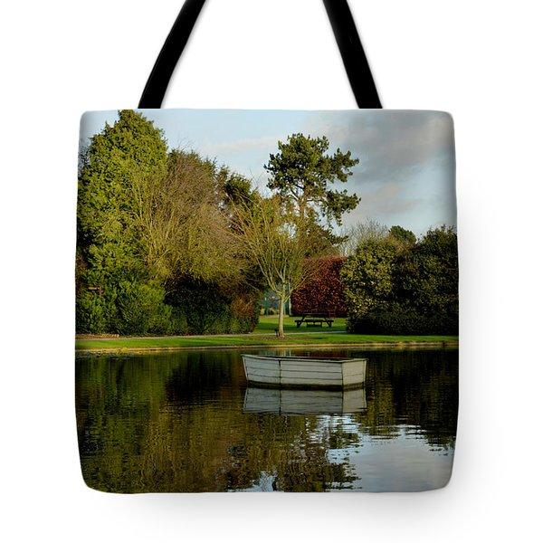 December In Burnby Hall Gardens Tote Bag