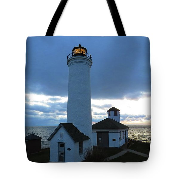 December Light, Tibbetts Point  Tote Bag