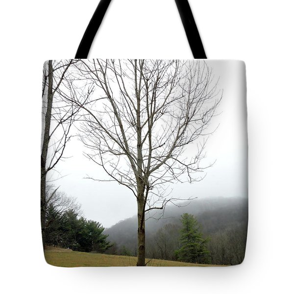 December Mist Tote Bag