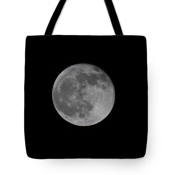December Moon Tote Bag