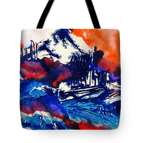 December Morn Tote Bag