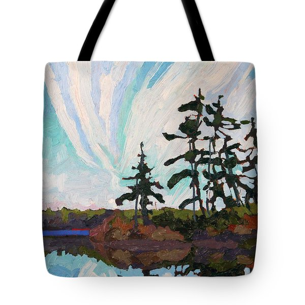 December Morn Tote Bag by Phil Chadwick
