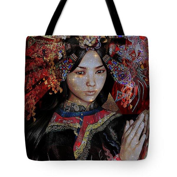 December Vision Tote Bag by Suzanne Silvir