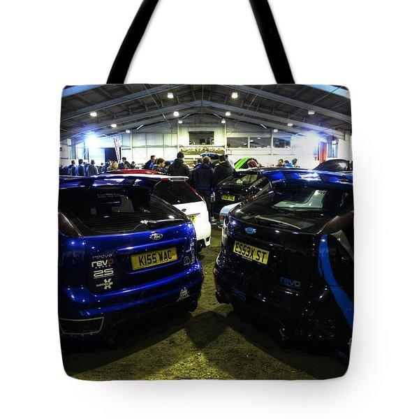 December's Meet Tote Bag by Vicki Spindler