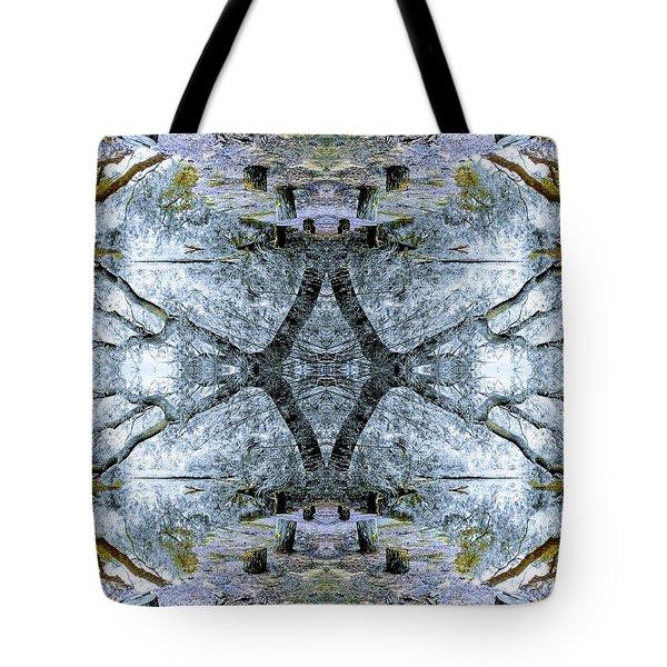 Deciduous Dimensions Tote Bag