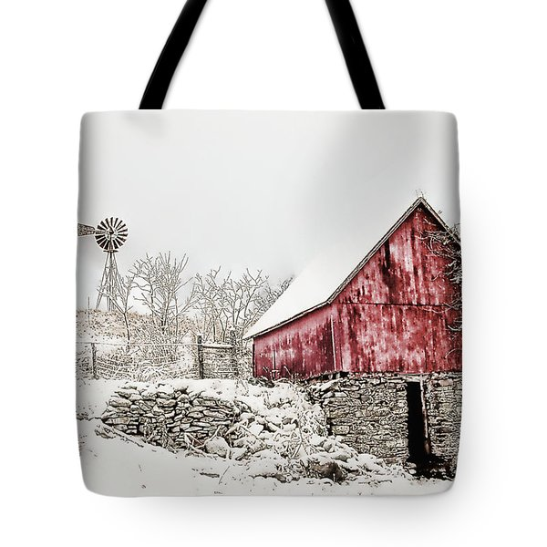 Decked In White Tote Bag